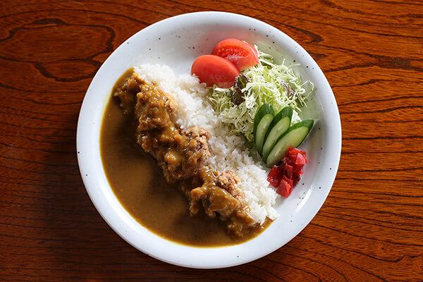 地鶏カレー